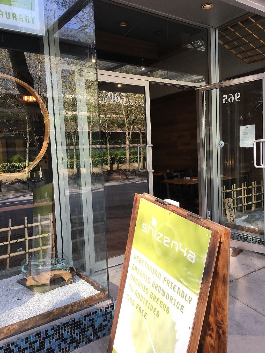 """Photo of Shizenya - Downtown  by <a href=""""/members/profile/vegan%20frog"""">vegan frog</a> <br/>Outside <br/> April 29, 2017  - <a href='/contact/abuse/image/87440/253832'>Report</a>"""