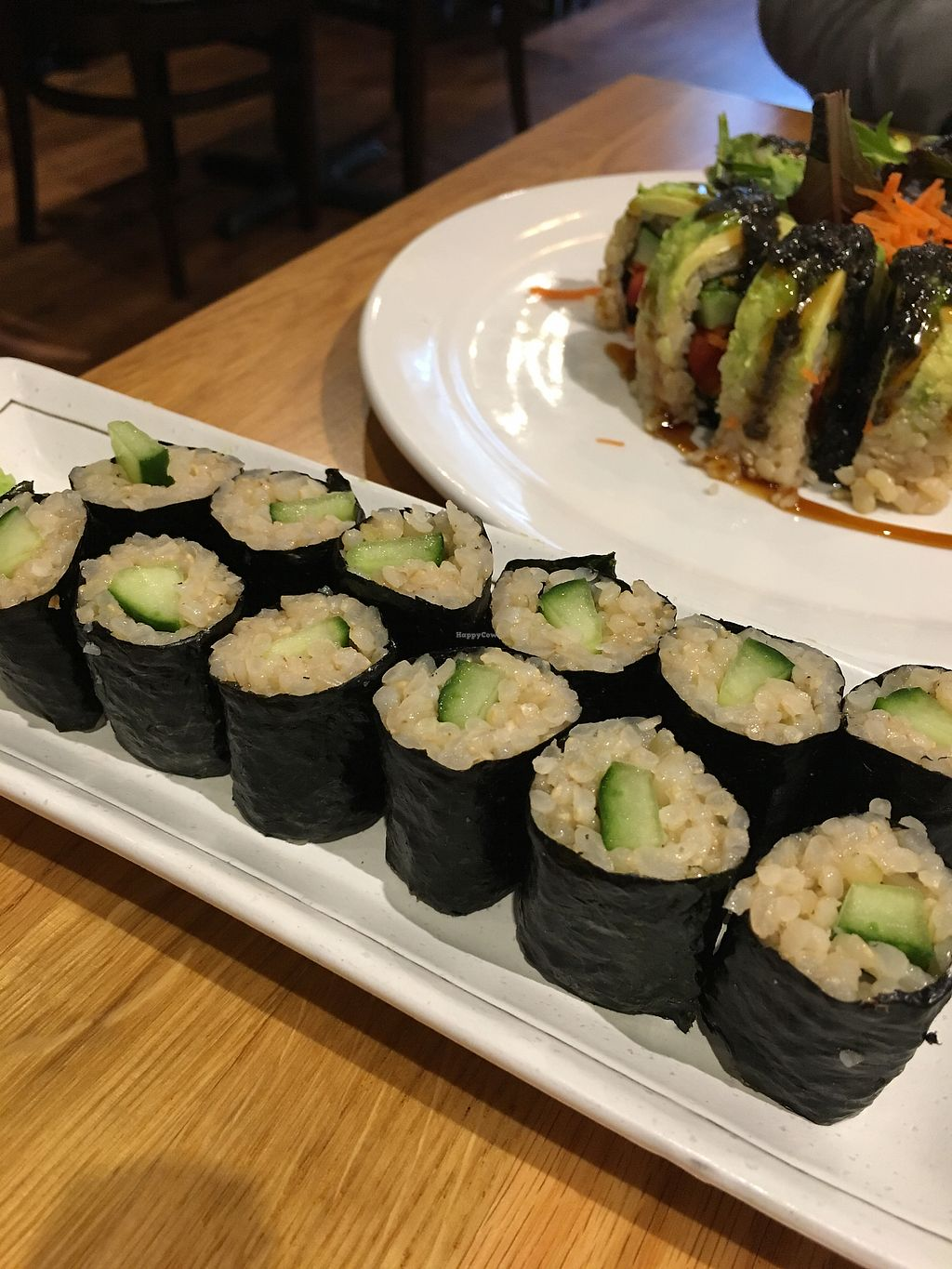 """Photo of Shizenya - Downtown  by <a href=""""/members/profile/Siup"""">Siup</a> <br/>Cucumber rolls <br/> March 21, 2018  - <a href='/contact/abuse/image/87440/373540'>Report</a>"""