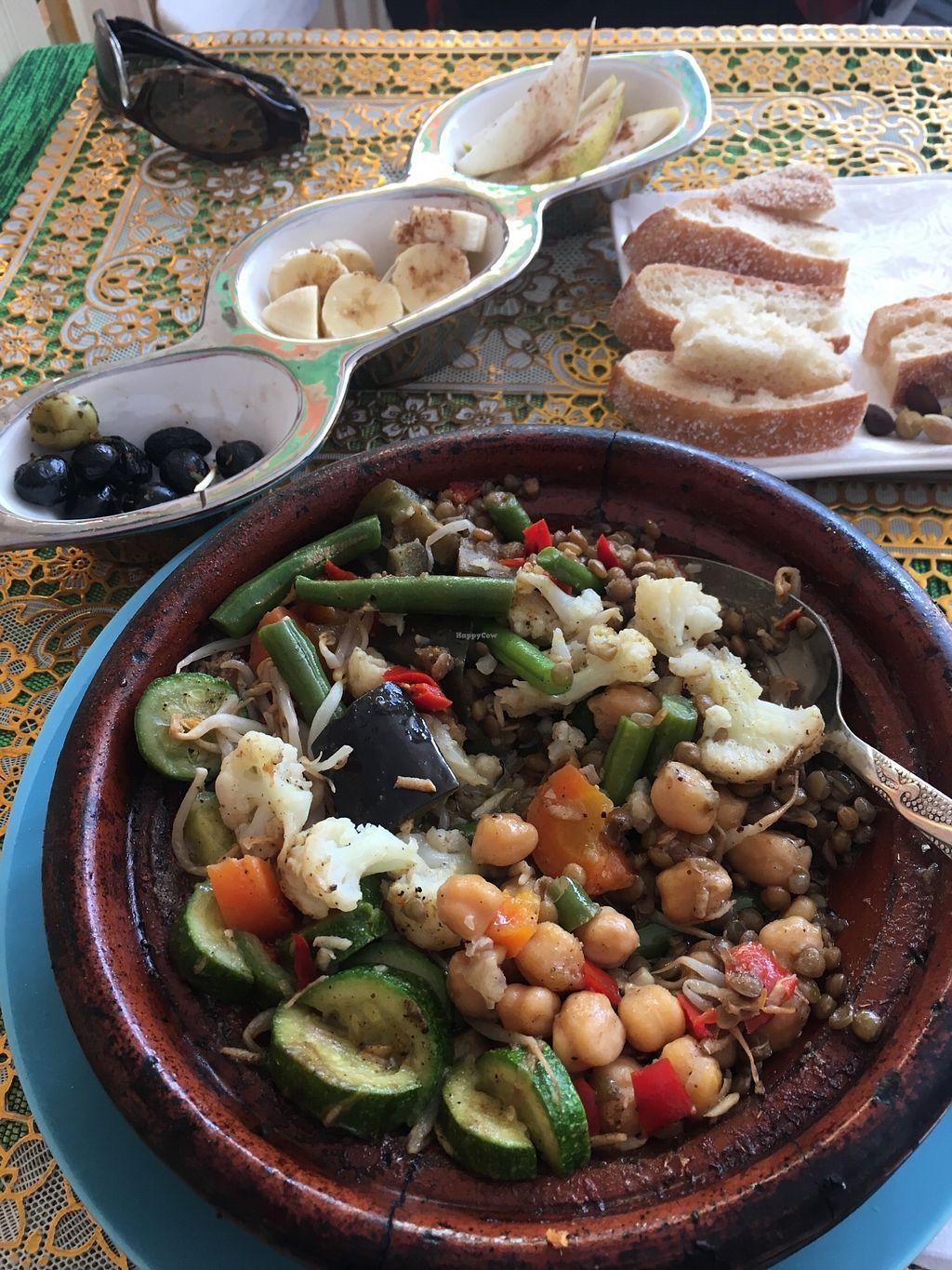 """Photo of Le Corail at Latifa  by <a href=""""/members/profile/Melboulet"""">Melboulet</a> <br/>Vegetarian Tagine  <br/> February 8, 2018  - <a href='/contact/abuse/image/87442/356414'>Report</a>"""