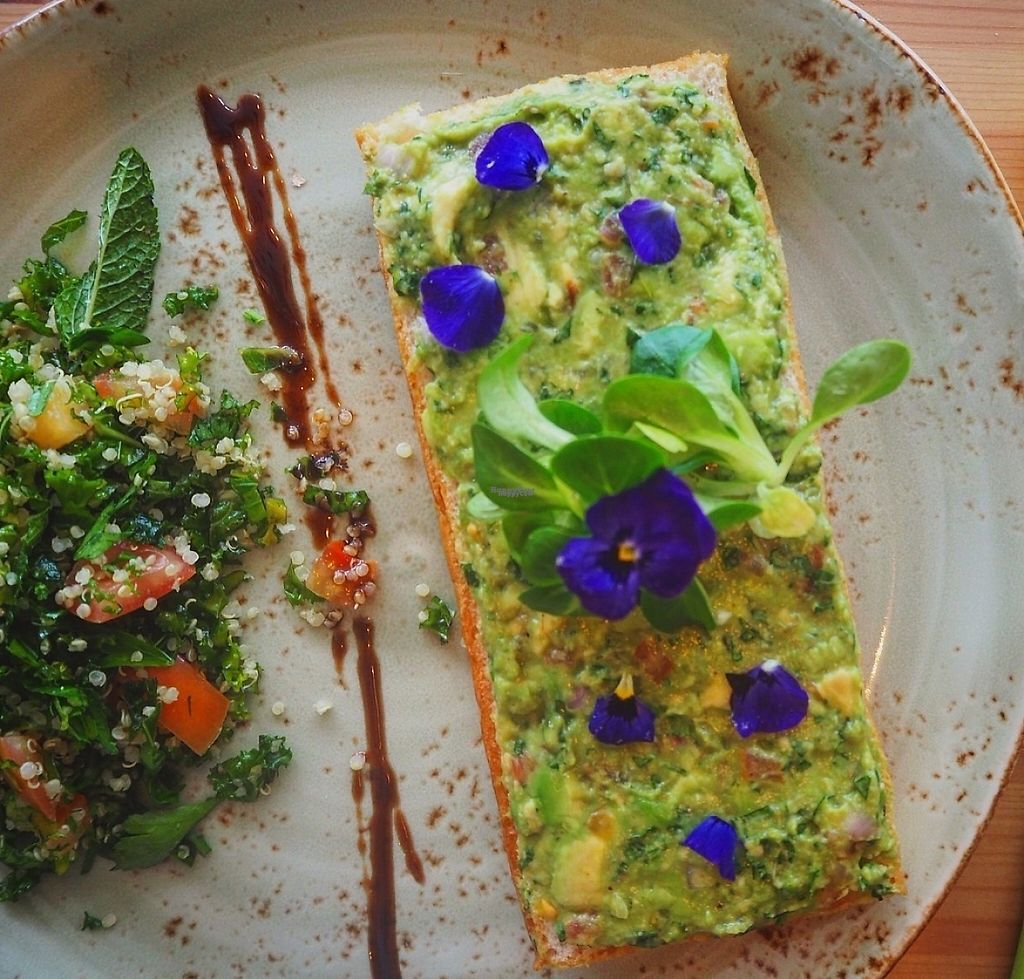 "Photo of Urth by Nabz&G  by <a href=""/members/profile/NabihAlMomaiz"">NabihAlMomaiz</a> <br/>Basil Guacamole Tartine <br/> March 2, 2017  - <a href='/contact/abuse/image/87469/231767'>Report</a>"