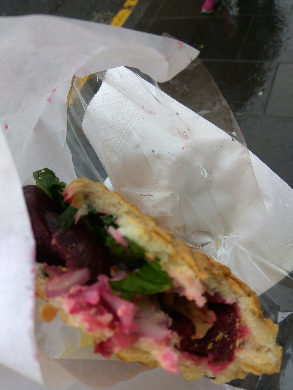 "Photo of Let Me Eat Too  by <a href=""/members/profile/TrixieFirecracker"">TrixieFirecracker</a> <br/>Beetroot AND hummus sandwich <br/> August 25, 2017  - <a href='/contact/abuse/image/87482/297245'>Report</a>"