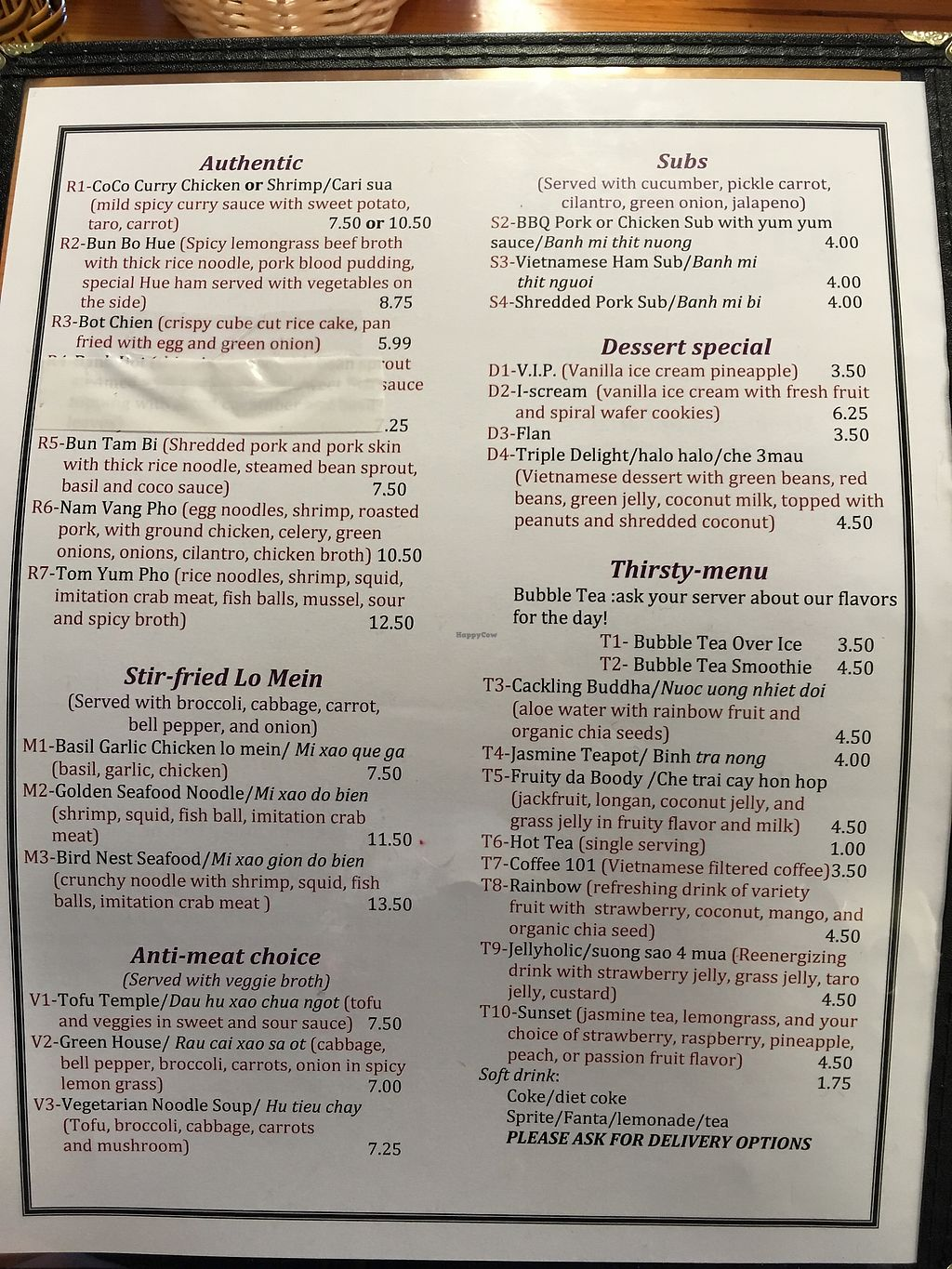 "Photo of Wat Da Pho  by <a href=""/members/profile/risamarie_mk"">risamarie_mk</a> <br/>Menu 2/2 (vegetarian menu available) <br/> July 28, 2017  - <a href='/contact/abuse/image/87484/285975'>Report</a>"