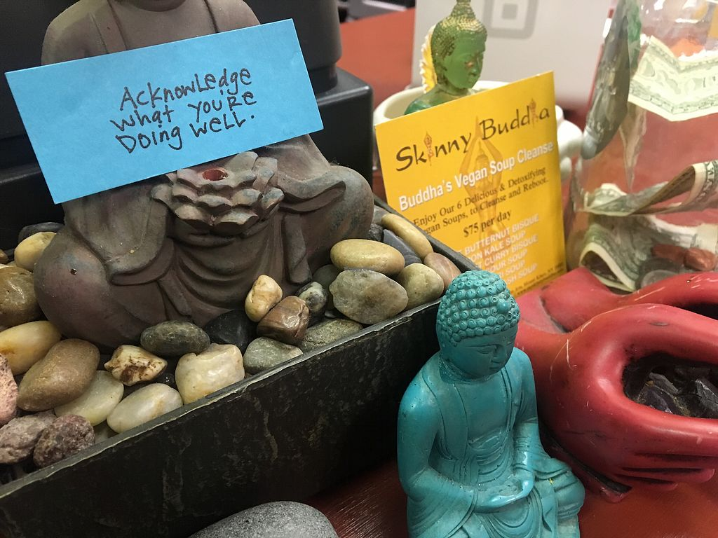 "Photo of Skinny Buddha  by <a href=""/members/profile/LilMsVegan"">LilMsVegan</a> <br/>Front desk decor  <br/> February 10, 2018  - <a href='/contact/abuse/image/87488/357578'>Report</a>"