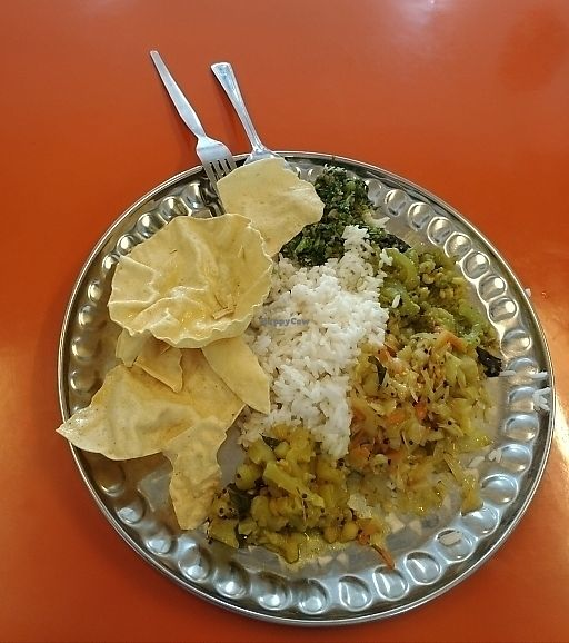 "Photo of Indian Banana Leaf Vegetarian Restaurant  by <a href=""/members/profile/stompmsp"">stompmsp</a> <br/>mixed rice, lunch <br/> June 27, 2017  - <a href='/contact/abuse/image/87502/273915'>Report</a>"