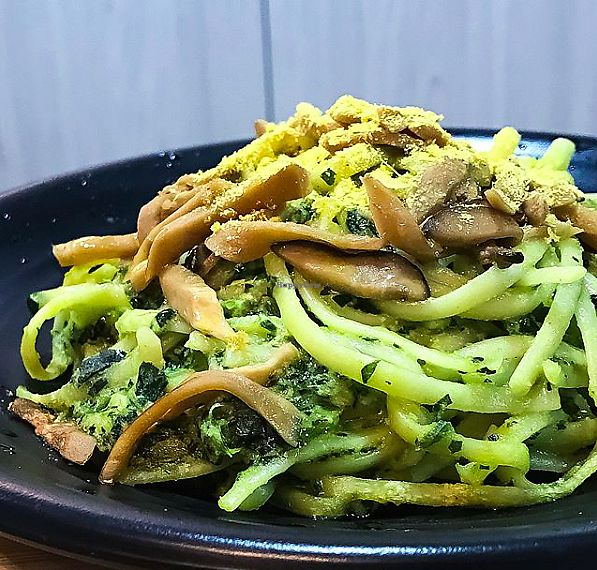 "Photo of NomVnom - Tai Seng St  by <a href=""/members/profile/Sweetveganneko"">Sweetveganneko</a> <br/>Spinach Linguine <br/> January 30, 2018  - <a href='/contact/abuse/image/87507/352788'>Report</a>"