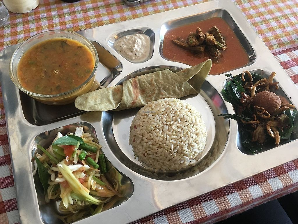 "Photo of CLOSED: Adwa I-tal Kitchen  by <a href=""/members/profile/Hopealomu"">Hopealomu</a> <br/>Thali of the day - a range of delicious dishes. Highly recommend! <br/> August 23, 2017  - <a href='/contact/abuse/image/87508/302105'>Report</a>"