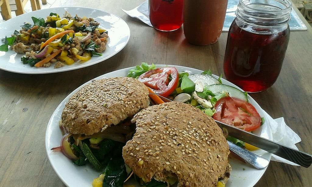 """Photo of Latitud 17 - maybe closed  by <a href=""""/members/profile/Doro%2A"""">Doro*</a> <br/>fried veggies (of menu of day) and vegan baguette  <br/> October 15, 2017  - <a href='/contact/abuse/image/87541/315327'>Report</a>"""