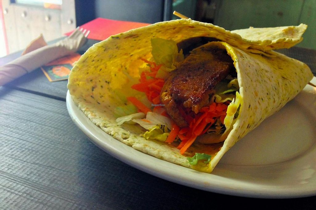 "Photo of Chilimosa  by <a href=""/members/profile/JustaPack"">JustaPack</a> <br/>Seitan Wrap <br/> July 16, 2014  - <a href='/contact/abuse/image/8754/74169'>Report</a>"