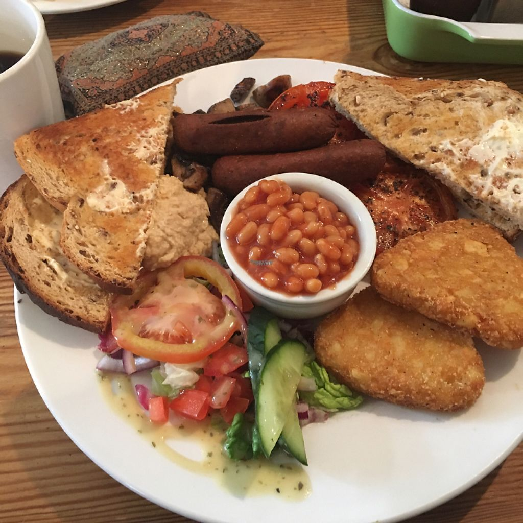 """Photo of Kensingtons The Balcony Cafe  by <a href=""""/members/profile/MelanieAllison"""">MelanieAllison</a> <br/>The Big Vegan breakfast (includes free drip coffee) <br/> February 22, 2017  - <a href='/contact/abuse/image/87583/229450'>Report</a>"""