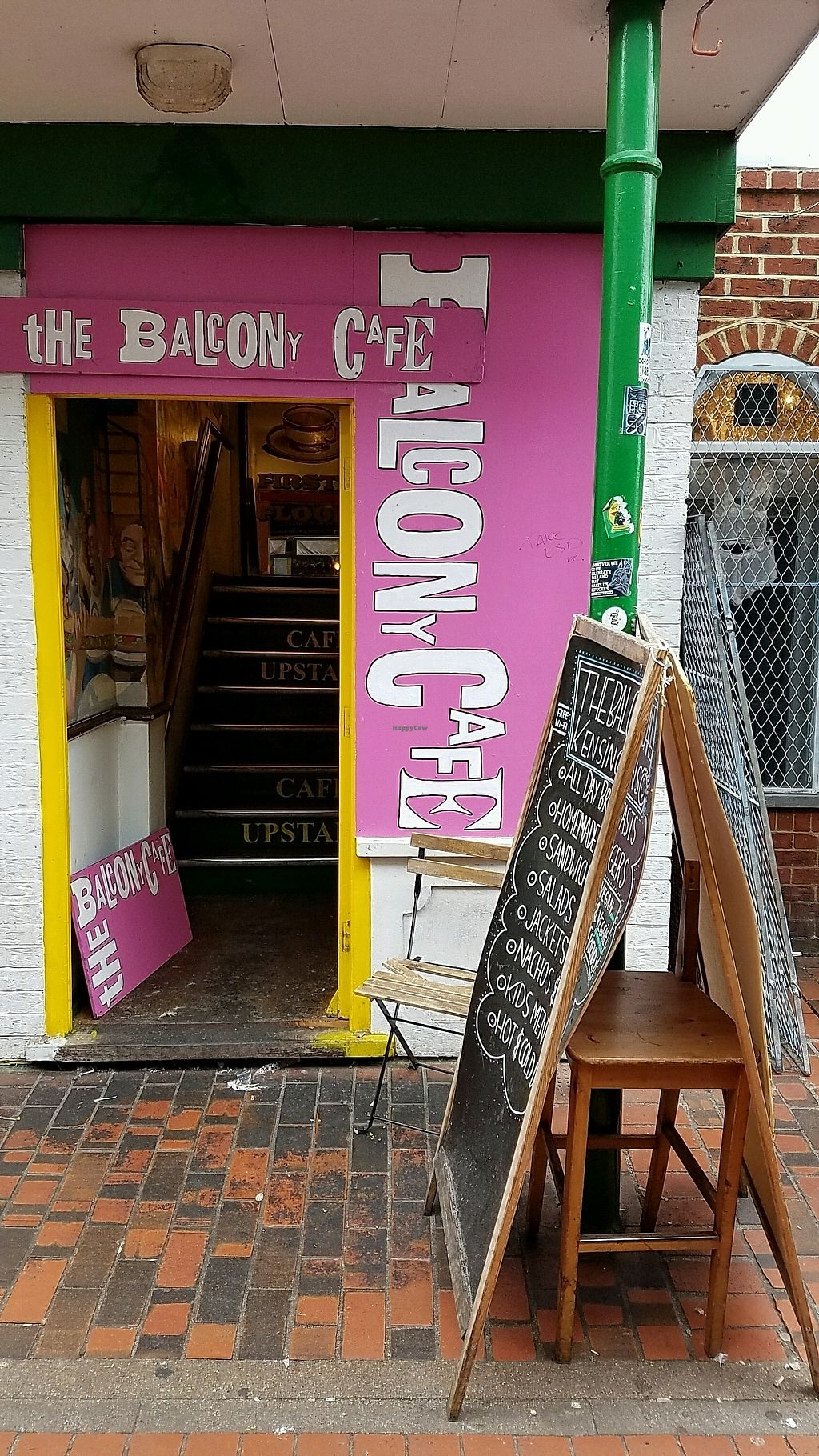 """Photo of Kensingtons The Balcony Cafe  by <a href=""""/members/profile/eric"""">eric</a> <br/>entrance <br/> October 25, 2017  - <a href='/contact/abuse/image/87583/318657'>Report</a>"""