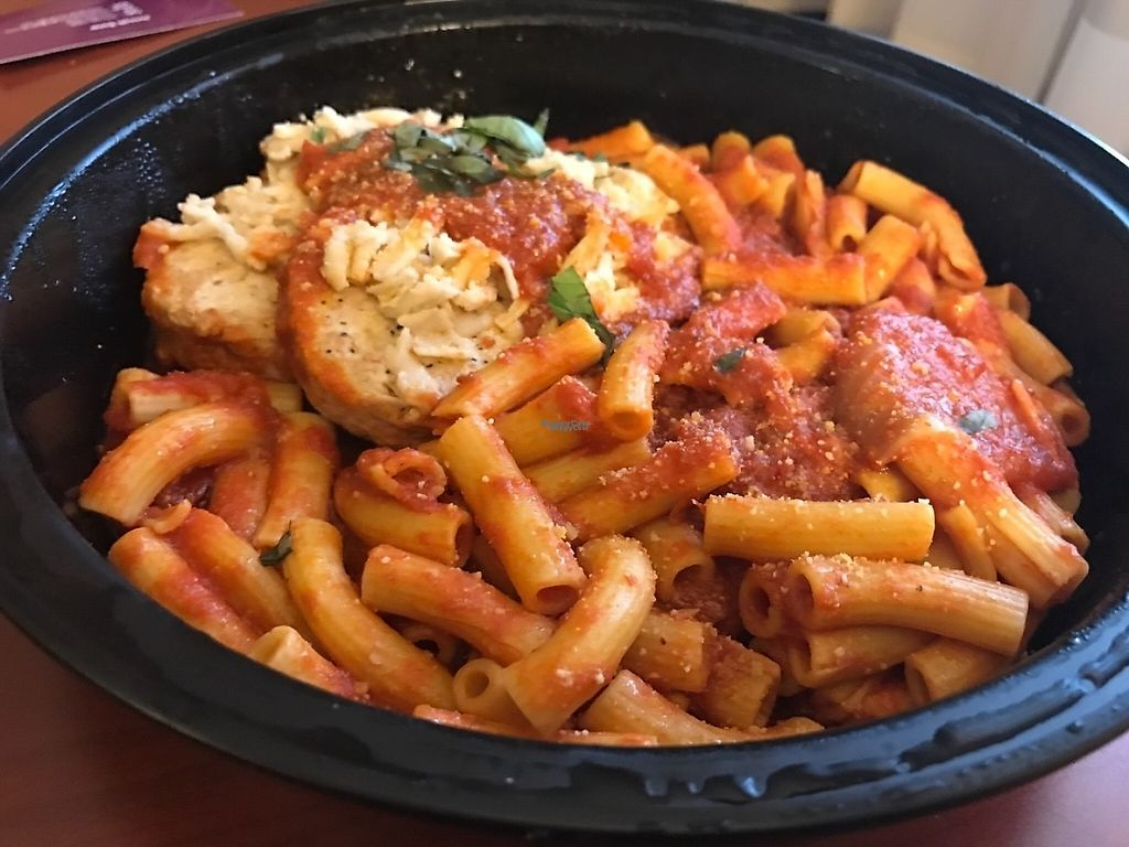 """Photo of The Greyhound Cafe  by <a href=""""/members/profile/MH321"""">MH321</a> <br/>Chicken parm (can't remember the fancy name for it ?)  <br/> March 22, 2017  - <a href='/contact/abuse/image/87601/239624'>Report</a>"""