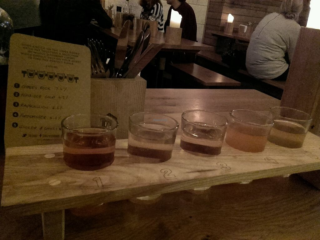 """Photo of The Stable  by <a href=""""/members/profile/MarkSwift"""">MarkSwift</a> <br/>Excellent cider selection <br/> November 8, 2017  - <a href='/contact/abuse/image/87612/323397'>Report</a>"""