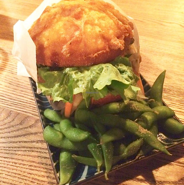 "Photo of Ryong  by <a href=""/members/profile/Marieanne"">Marieanne</a> <br/>Bao Burger mit Edamame <br/> June 30, 2017  - <a href='/contact/abuse/image/87623/275314'>Report</a>"