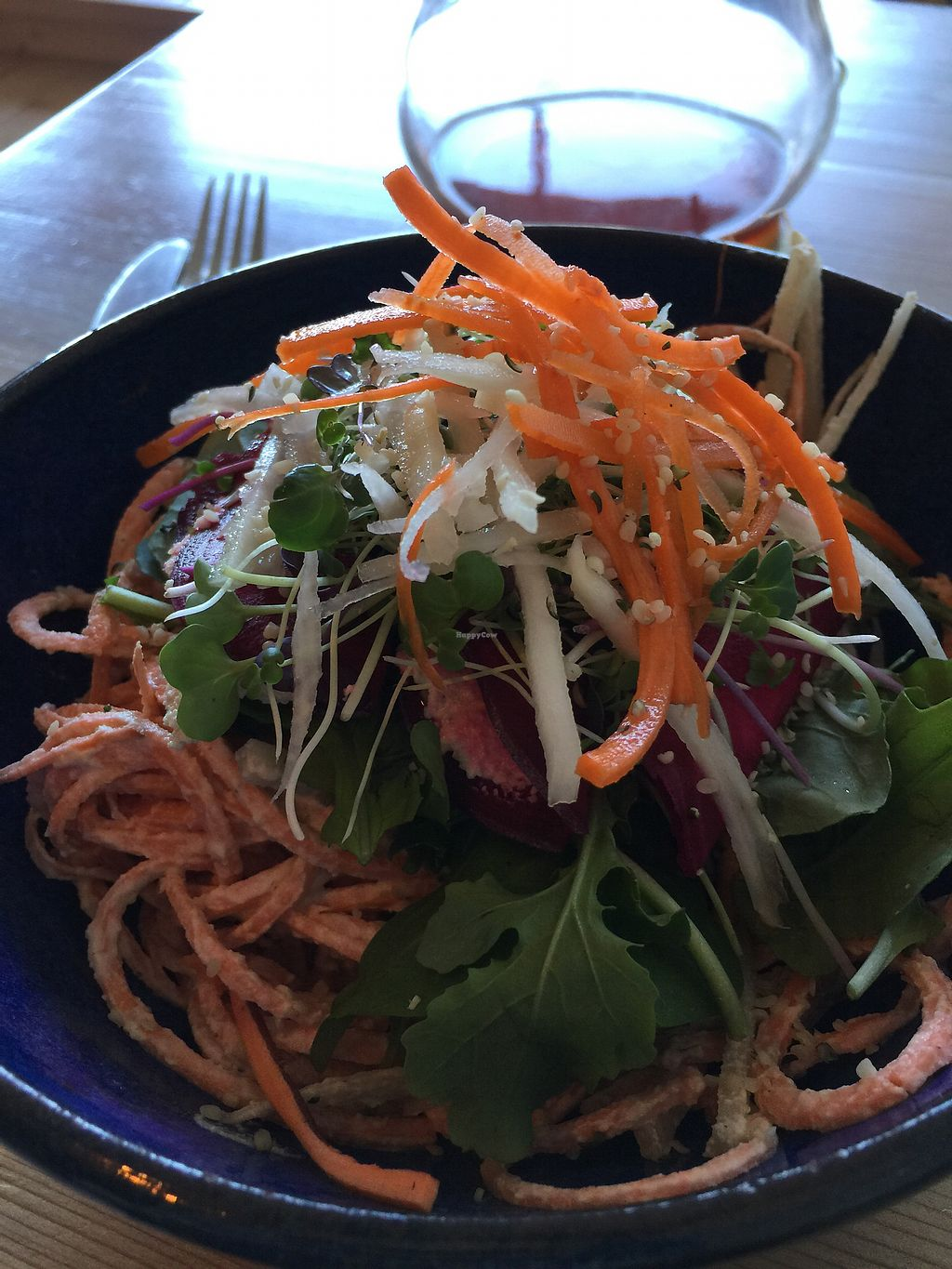 """Photo of Soulfood  by <a href=""""/members/profile/TanieWalker"""">TanieWalker</a> <br/>Raw food/vegan Alfredo!!! <br/> October 7, 2017  - <a href='/contact/abuse/image/87639/312782'>Report</a>"""
