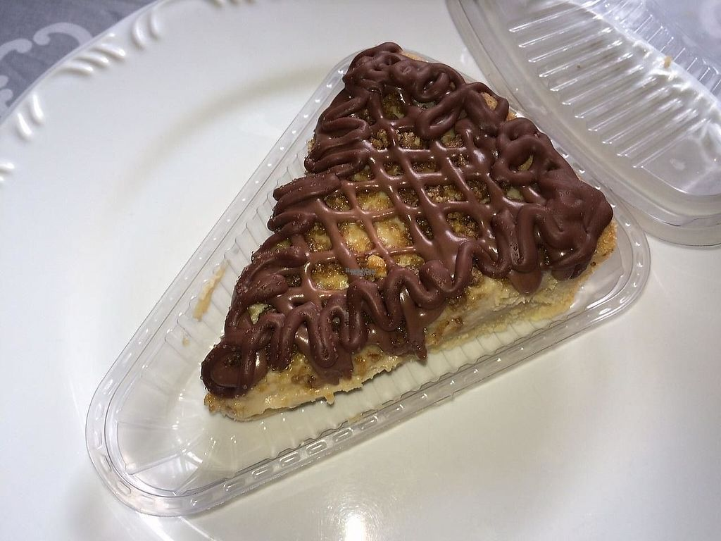 """Photo of Guia Vegano - Vegan Store  by <a href=""""/members/profile/GuiaVegano"""">GuiaVegano</a> <br/>Chocolate Peanut butter vegan cheesecake <br/> February 24, 2017  - <a href='/contact/abuse/image/87663/230058'>Report</a>"""