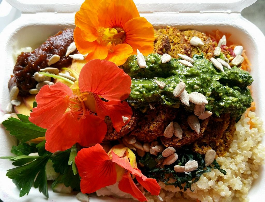 """Photo of Tea and Happiness  by <a href=""""/members/profile/TeaandHappiness"""">TeaandHappiness</a> <br/>WFPB Buddha Bowl <br/> April 13, 2018  - <a href='/contact/abuse/image/87670/385067'>Report</a>"""