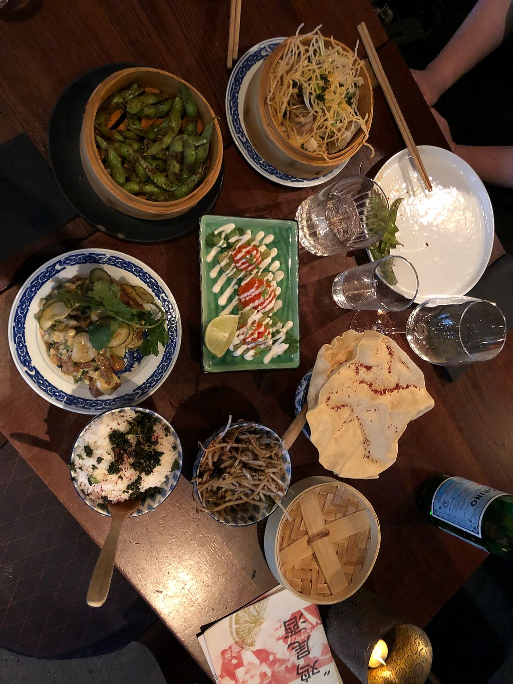 """Photo of Ling Long  by <a href=""""/members/profile/raiu"""">raiu</a> <br/>So many vegan options! <br/> April 16, 2018  - <a href='/contact/abuse/image/87671/386714'>Report</a>"""