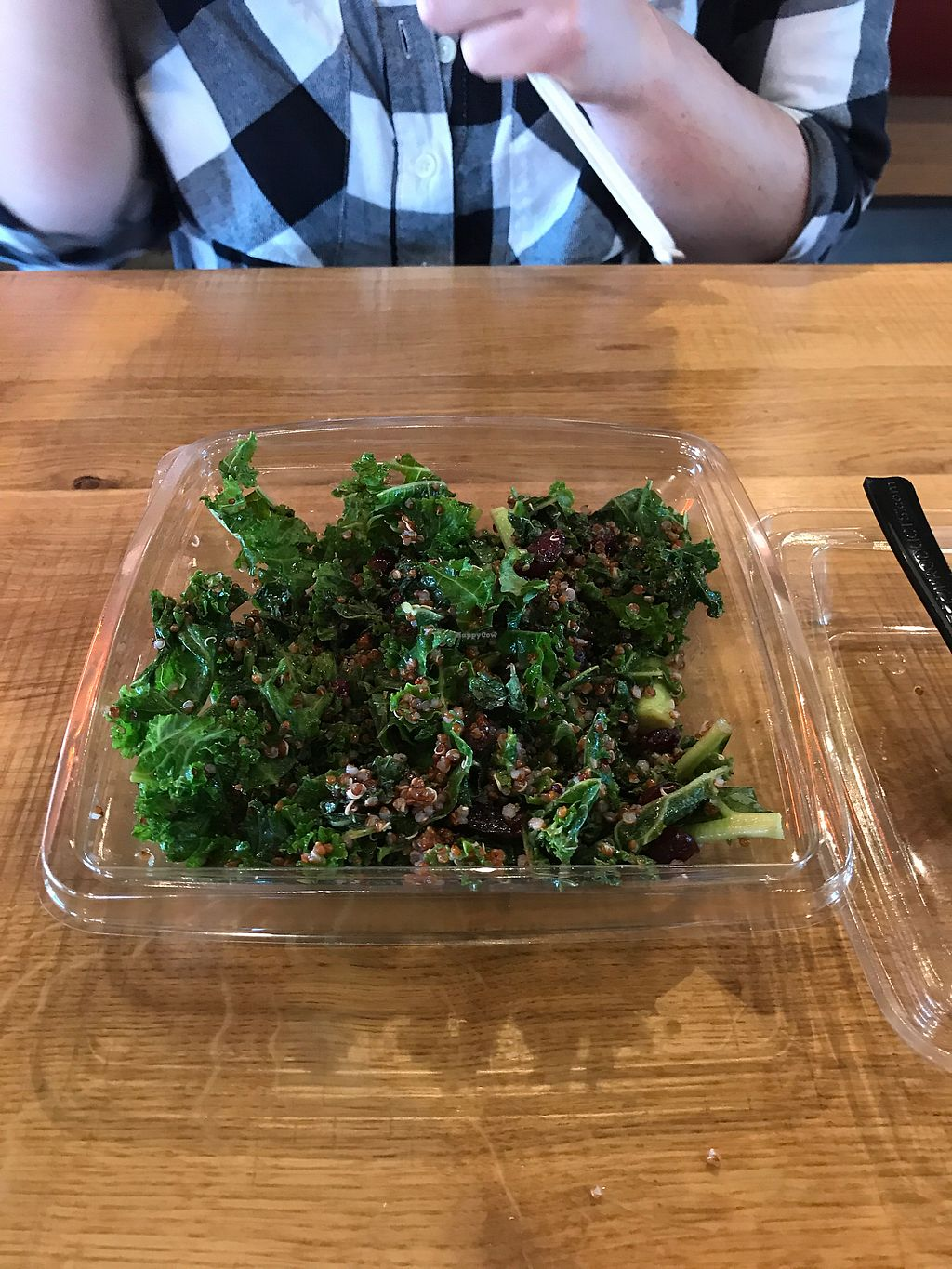 """Photo of Blaze Pizza  by <a href=""""/members/profile/TravisHayes"""">TravisHayes</a> <br/>Kale and quinoa salad <br/> September 16, 2017  - <a href='/contact/abuse/image/87679/305110'>Report</a>"""