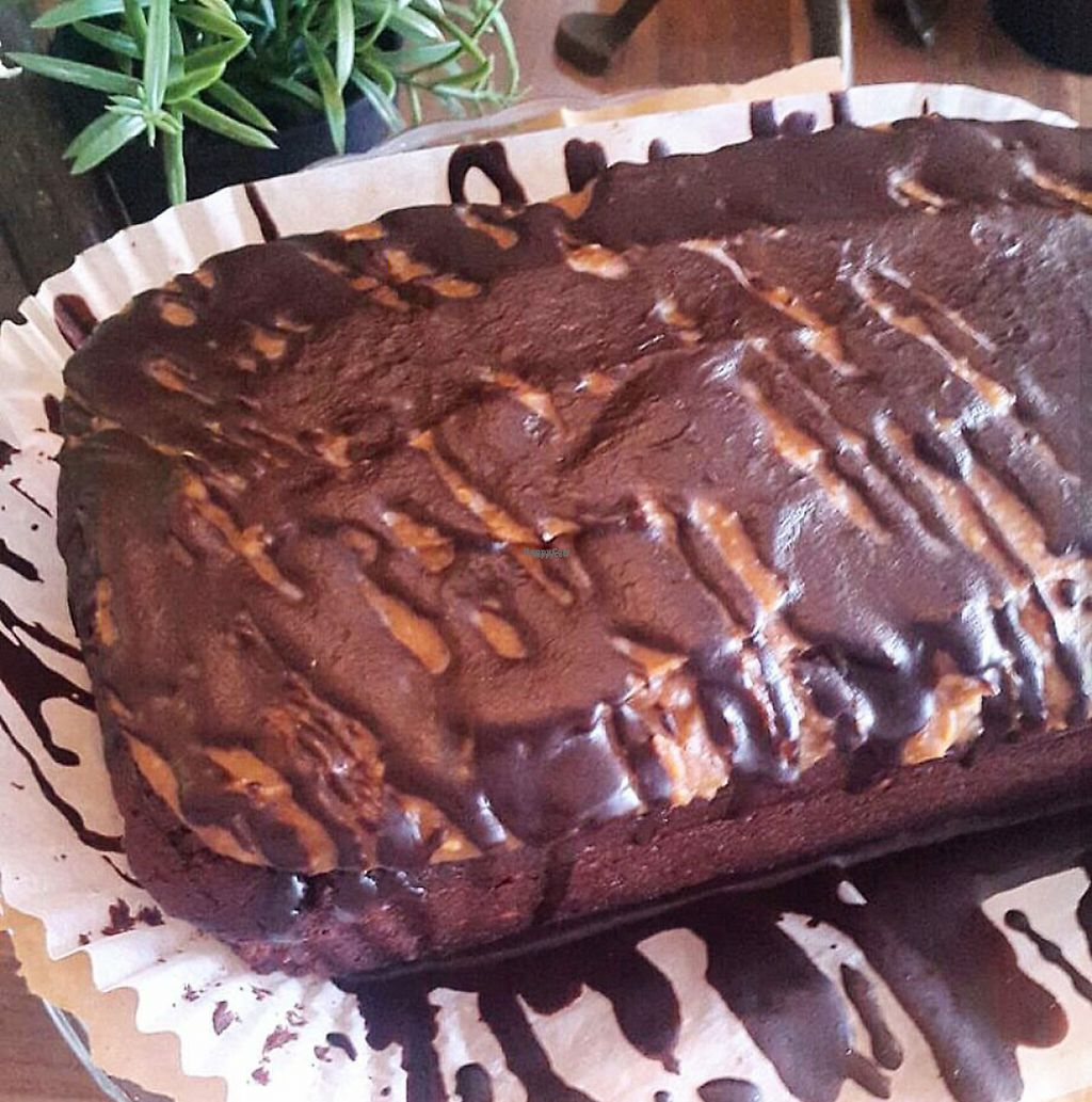 """Photo of The Artisan  by <a href=""""/members/profile/Sarah_clayton328"""">Sarah_clayton328</a> <br/>Vegan nutty chocolate cake <br/> February 25, 2017  - <a href='/contact/abuse/image/87681/230402'>Report</a>"""
