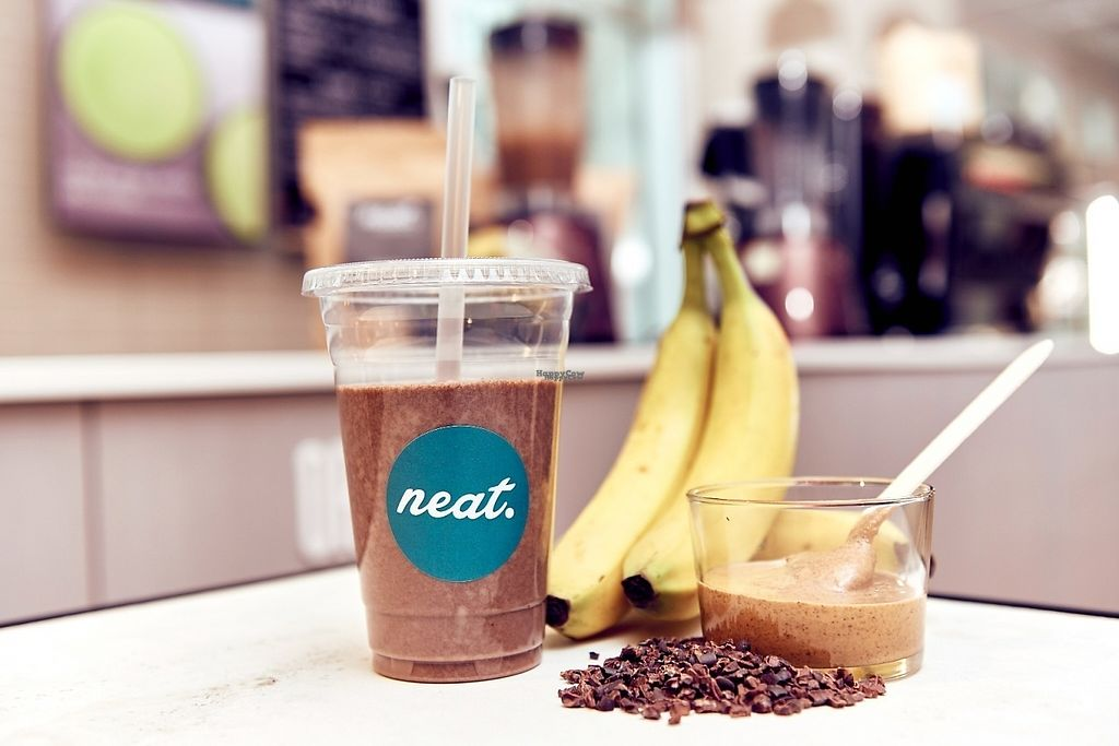 """Photo of Neat Nutrition Cafe & Smoothie Bar at lululemon  by <a href=""""/members/profile/Catty"""">Catty</a> <br/>Vegan protein shake - pea & hemp blend <br/> February 27, 2017  - <a href='/contact/abuse/image/87686/231004'>Report</a>"""