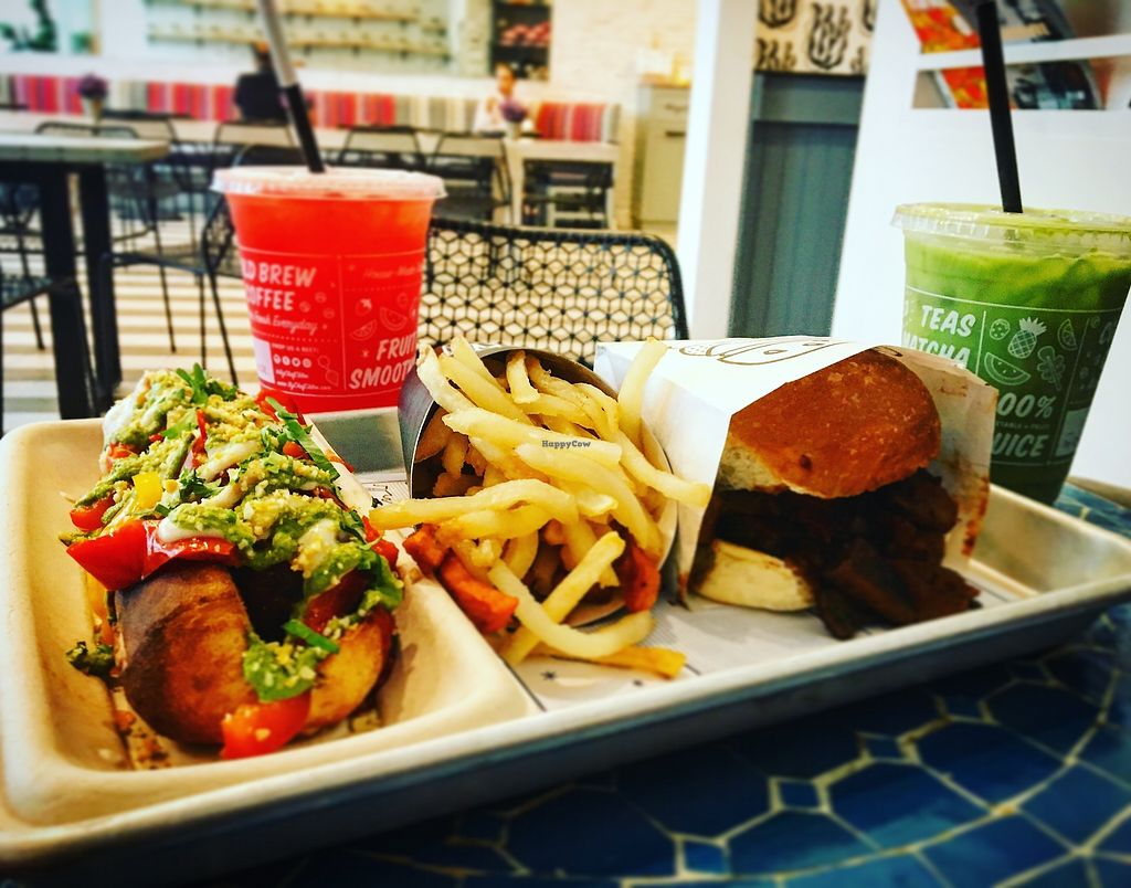"""Photo of By Chloe - Seaport  by <a href=""""/members/profile/Dancingpurplemermaid"""">Dancingpurplemermaid</a> <br/>Vegan burger <br/> June 27, 2017  - <a href='/contact/abuse/image/87689/274170'>Report</a>"""