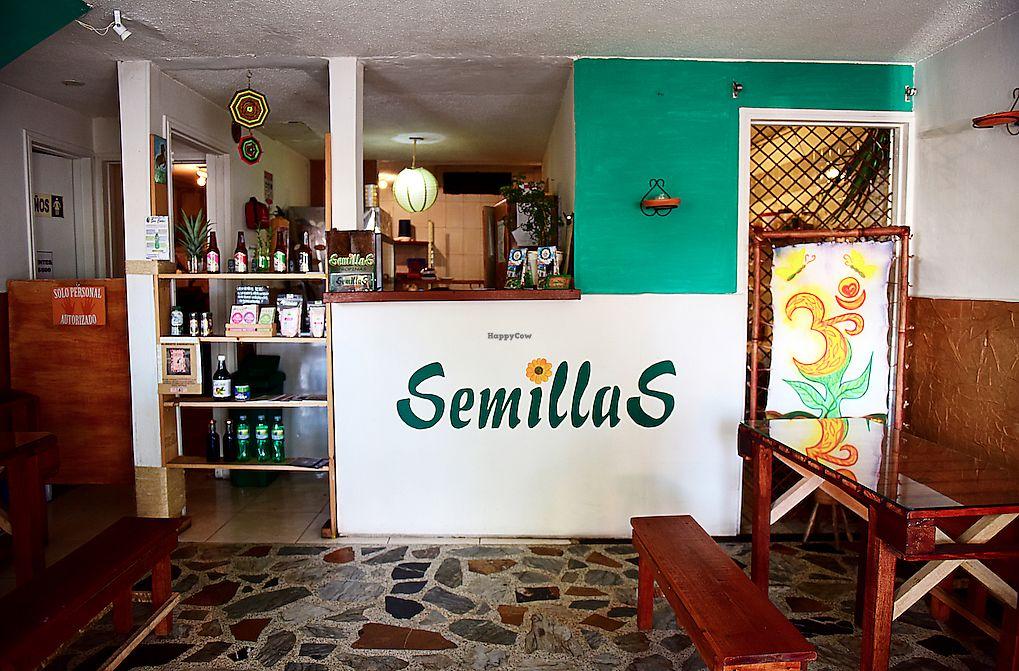 "Photo of Semillas Comida Sana  by <a href=""/members/profile/SantiagoMarulanda"">SantiagoMarulanda</a> <br/>Foto frontal del restaurante <br/> July 10, 2017  - <a href='/contact/abuse/image/87708/278550'>Report</a>"