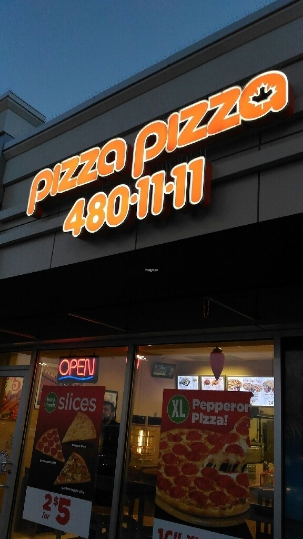 """Photo of Pizza Pizza - Forest Hills Pkwy  by <a href=""""/members/profile/QuothTheRaven"""">QuothTheRaven</a> <br/>outside <br/> March 19, 2017  - <a href='/contact/abuse/image/87714/238277'>Report</a>"""