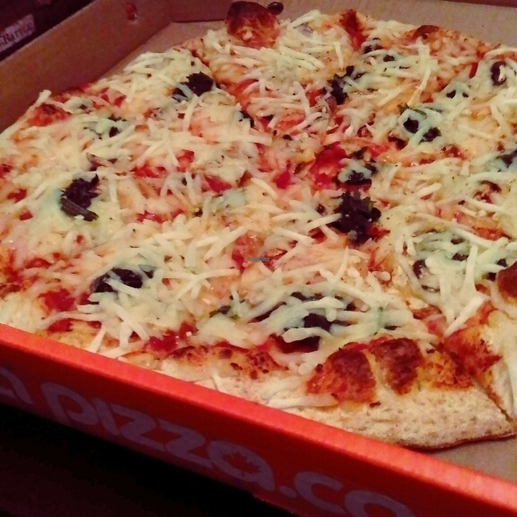 """Photo of Pizza Pizza - Forest Hills Pkwy  by <a href=""""/members/profile/QuothTheRaven"""">QuothTheRaven</a> <br/>vegan cheeze!!  <br/> March 19, 2017  - <a href='/contact/abuse/image/87714/238278'>Report</a>"""