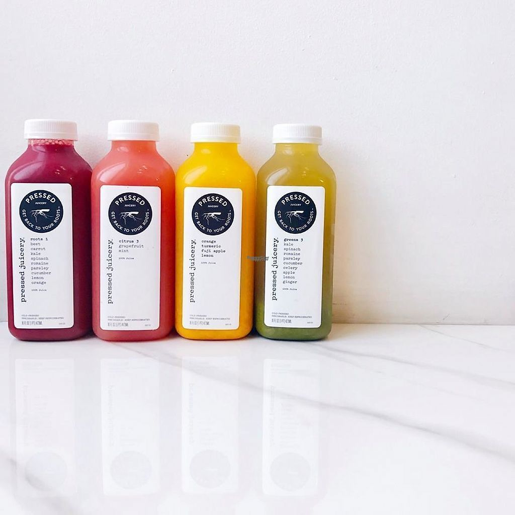 """Photo of Pressed Juicery  by <a href=""""/members/profile/community"""">community</a> <br/>fresh juices  <br/> April 1, 2017  - <a href='/contact/abuse/image/87717/243300'>Report</a>"""