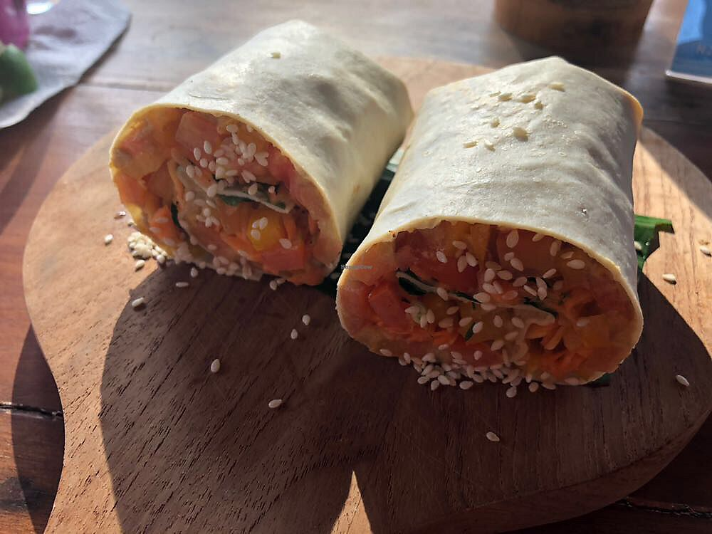 """Photo of Good Earth Cafe  by <a href=""""/members/profile/LaurieKing"""">LaurieKing</a> <br/>Hummus wrap <br/> November 2, 2017  - <a href='/contact/abuse/image/87723/321023'>Report</a>"""