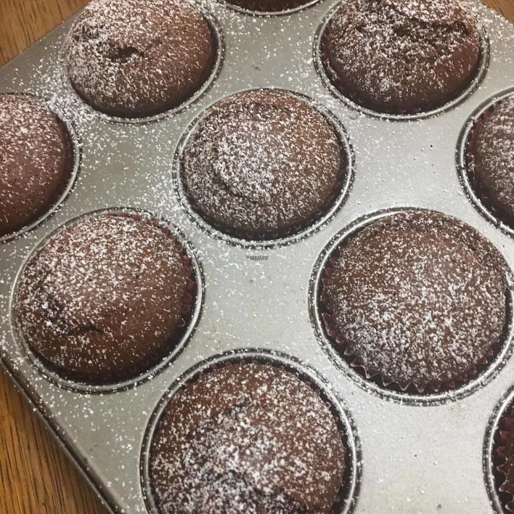 "Photo of Bar Dobrze  by <a href=""/members/profile/MartynaSztaba"">MartynaSztaba</a> <br/>Gingerbread-muffins - vegan dessert 1 pc. 3.00 PLN (0,75 $)