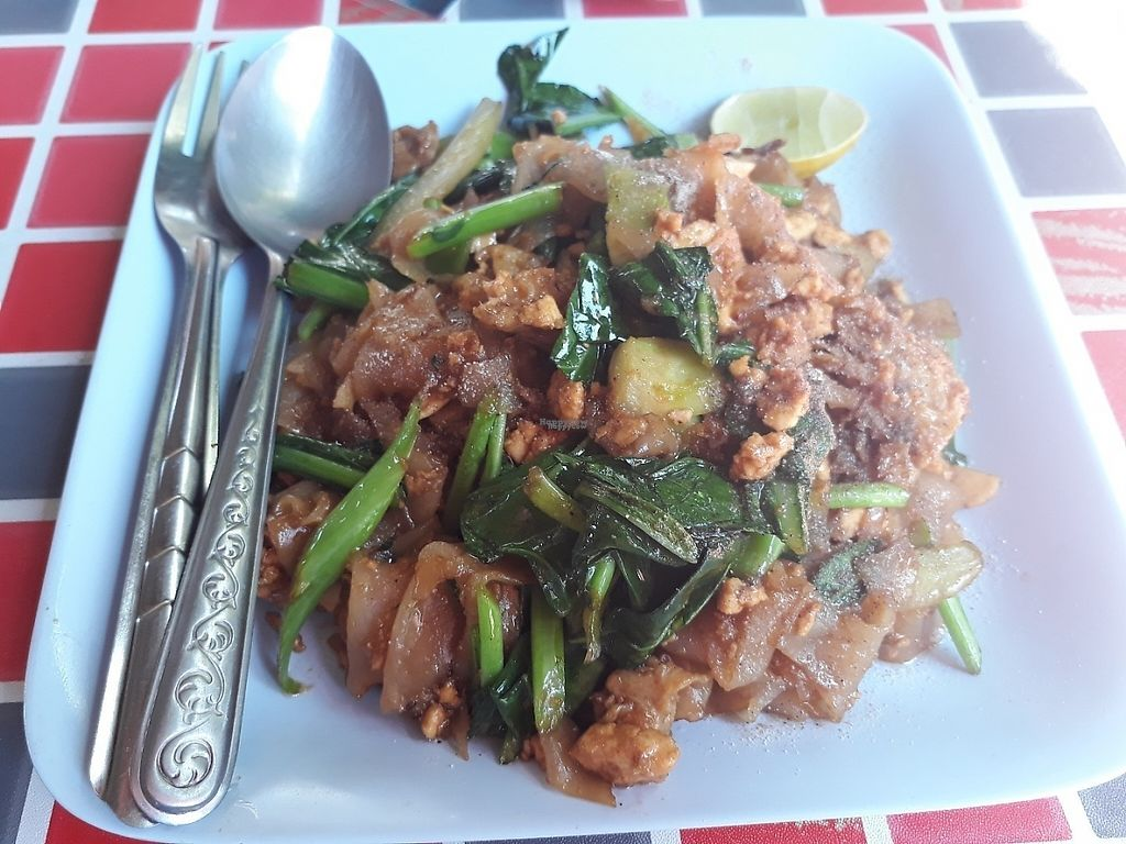 """Photo of Vegetarian Food  by <a href=""""/members/profile/LilacHippy"""">LilacHippy</a> <br/>Pad see eiw <br/> February 27, 2017  - <a href='/contact/abuse/image/87757/230896'>Report</a>"""
