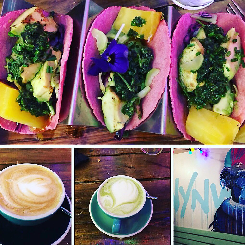 """Photo of Wynwood  by <a href=""""/members/profile/SPrice007"""">SPrice007</a> <br/>Veggie Tacos - Made Vegan!! <br/> January 2, 2018  - <a href='/contact/abuse/image/87760/341903'>Report</a>"""