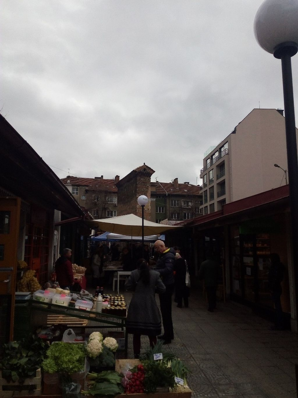 Photo of Farmers' Market Rimskata Stena  by Mrnatural <br/>Entrance to market <br/> March 17, 2017  - <a href='/contact/abuse/image/87762/237415'>Report</a>