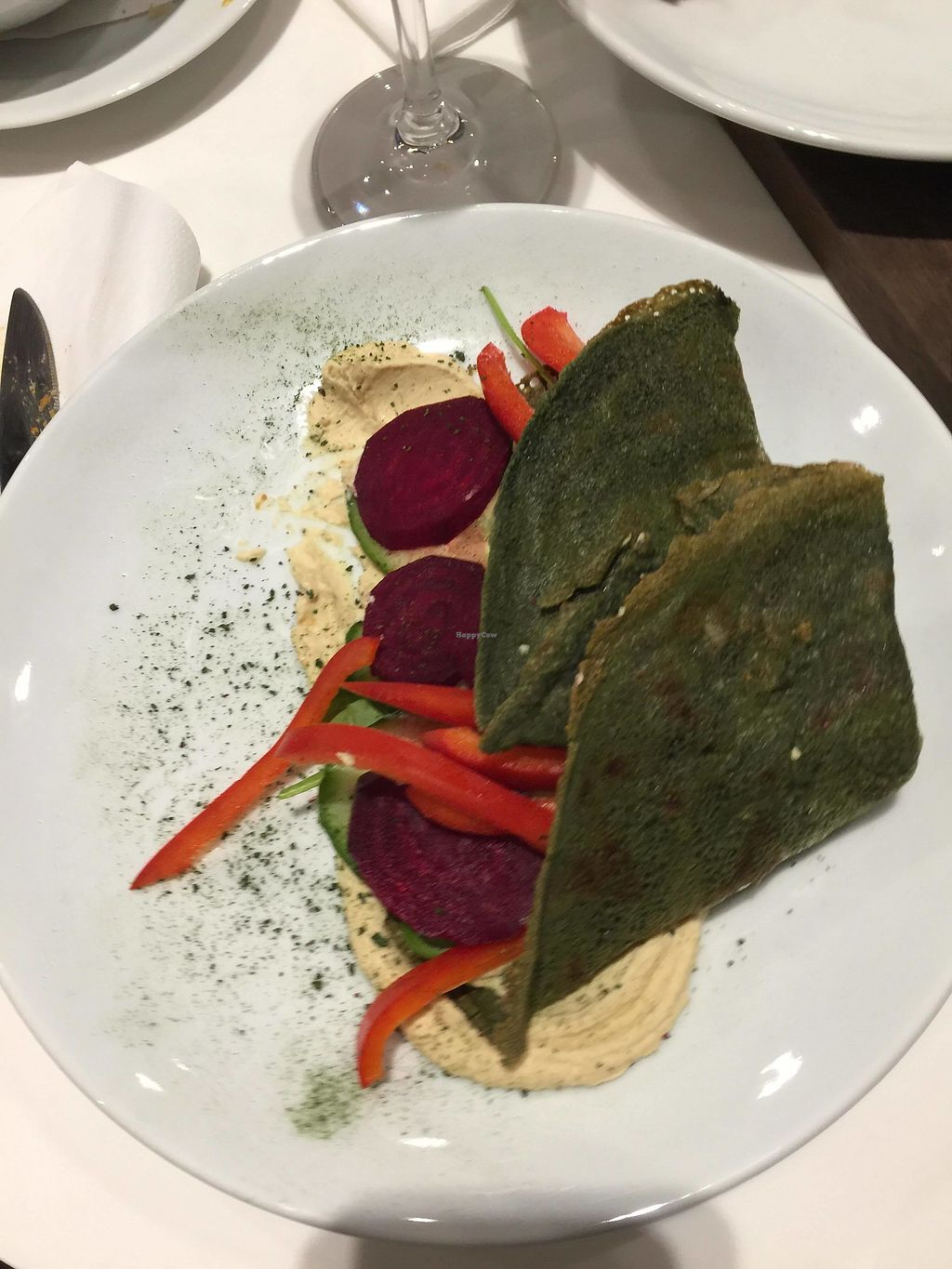 "Photo of Think Love Juices & Vegan Food  by <a href=""/members/profile/FernandoMoreira"">FernandoMoreira</a> <br/>spirulina pancakes <br/> December 26, 2017  - <a href='/contact/abuse/image/87763/339338'>Report</a>"