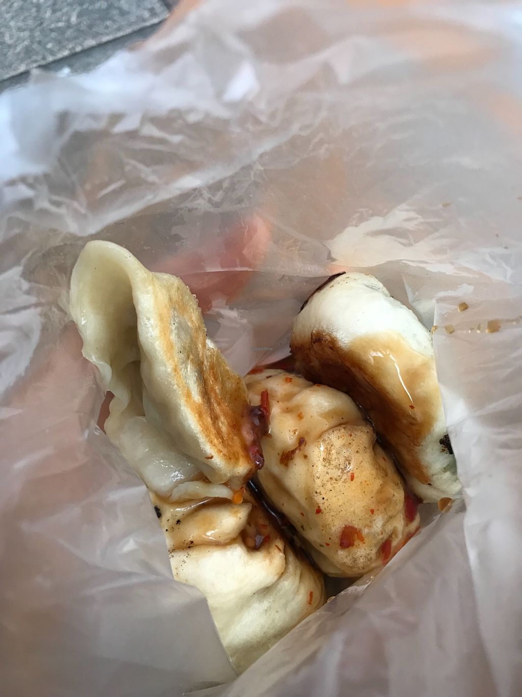"""Photo of Shang Ding Huang Jia - Wanhua District  by <a href=""""/members/profile/theNumberOfTheBeast"""">theNumberOfTheBeast</a> <br/>Potstickers and dim sum in a bag <br/> December 25, 2017  - <a href='/contact/abuse/image/87806/338897'>Report</a>"""