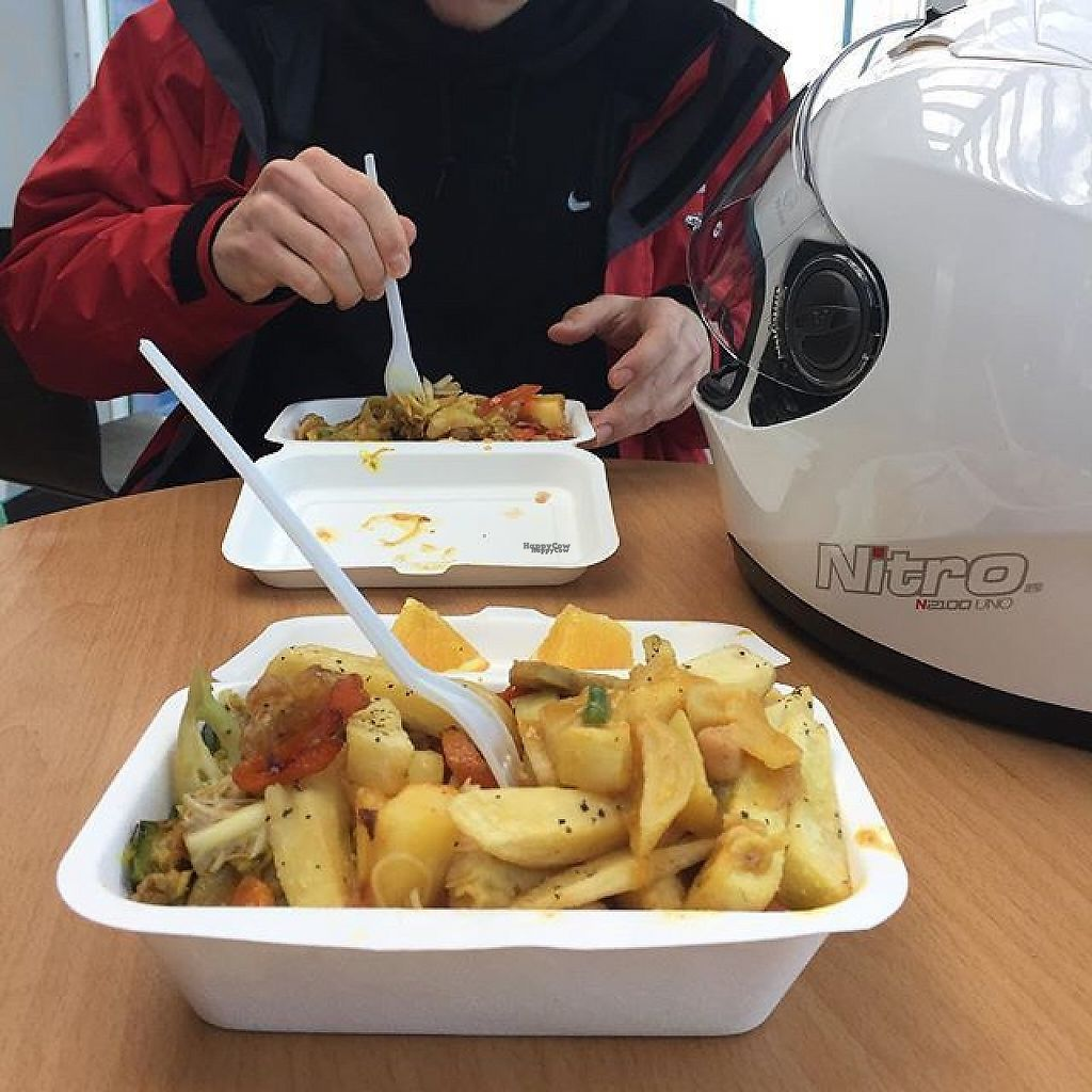 """Photo of Loving Hut - Norwich  by <a href=""""/members/profile/notoriousmeg"""">notoriousmeg</a> <br/>BEAUTIFUL box of goodness from Loving Hut. (And this is only a small section of what they have!!!) <br/> February 12, 2017  - <a href='/contact/abuse/image/8780/225862'>Report</a>"""