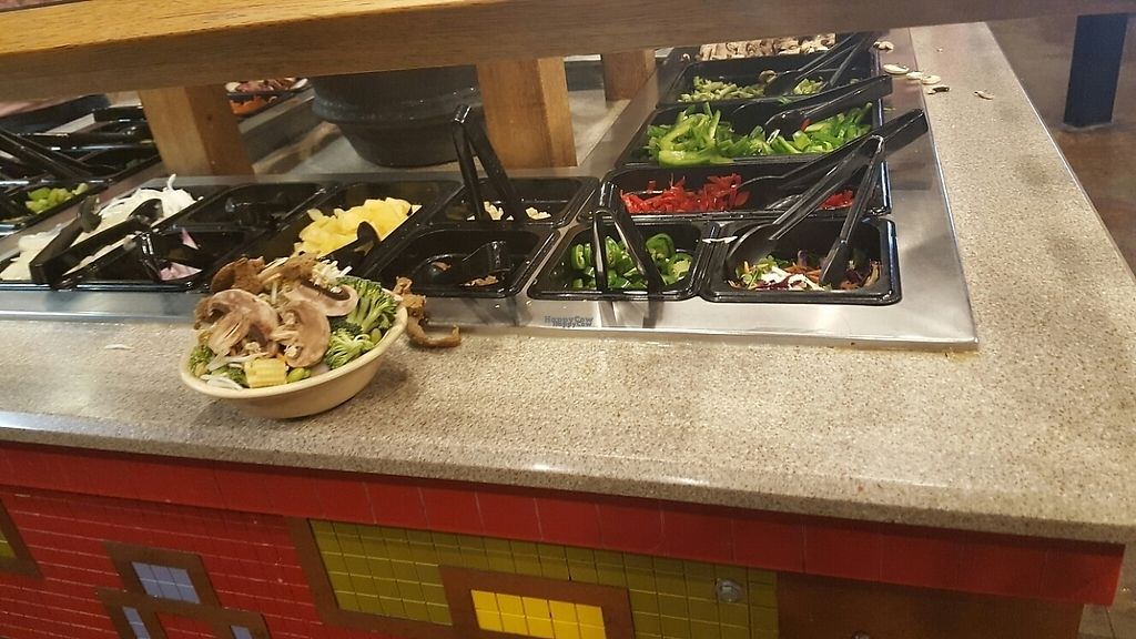 """Photo of bd's Mongolian Grill  by <a href=""""/members/profile/pofpar"""">pofpar</a> <br/>veggie bar <br/> February 28, 2017  - <a href='/contact/abuse/image/87836/231156'>Report</a>"""