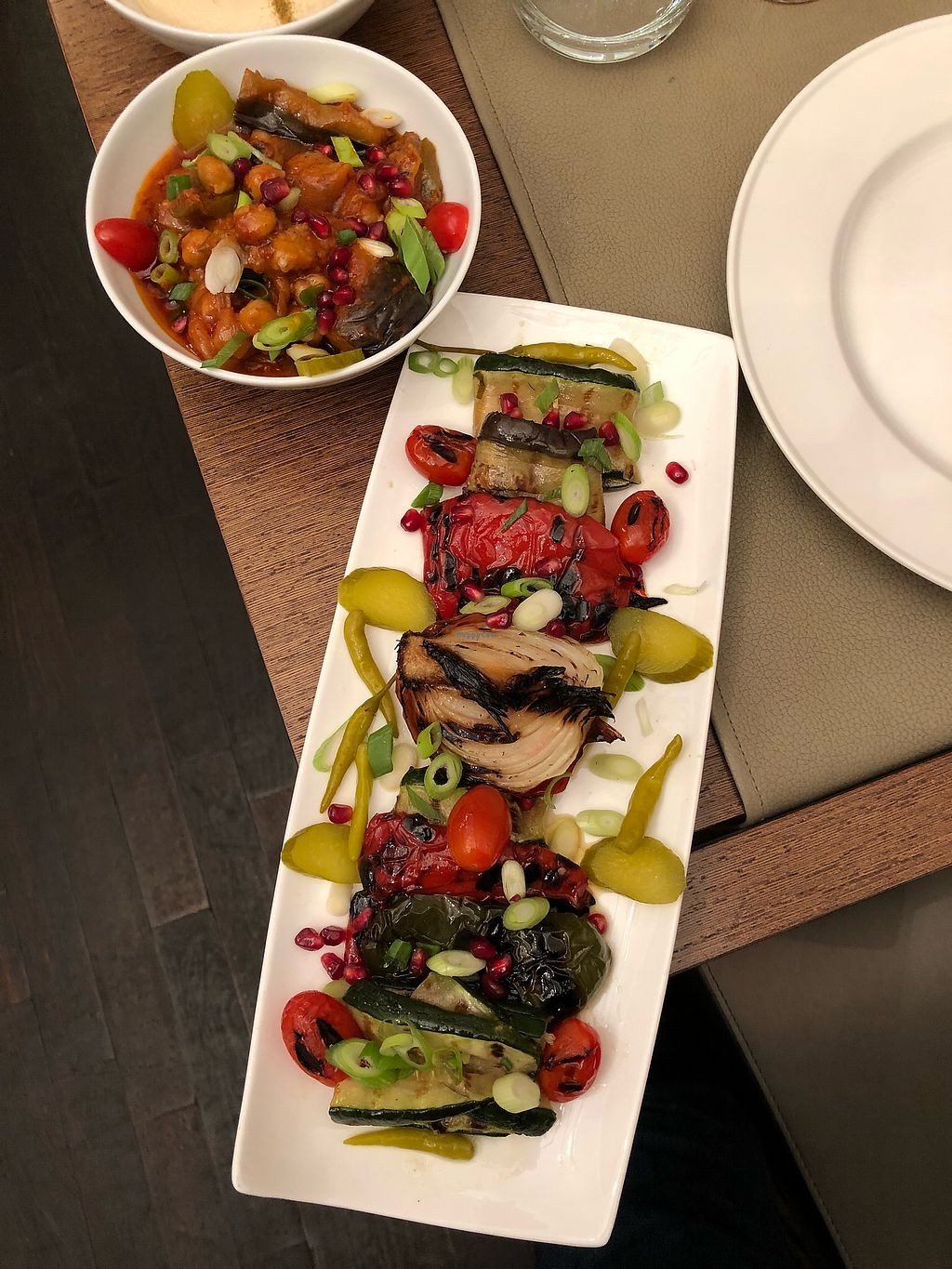"Photo of Sir Hanry's  by <a href=""/members/profile/ThurmanMunson"">ThurmanMunson</a> <br/>Assorted Grilled Veggies and Moussaka <br/> April 2, 2018  - <a href='/contact/abuse/image/87840/379947'>Report</a>"