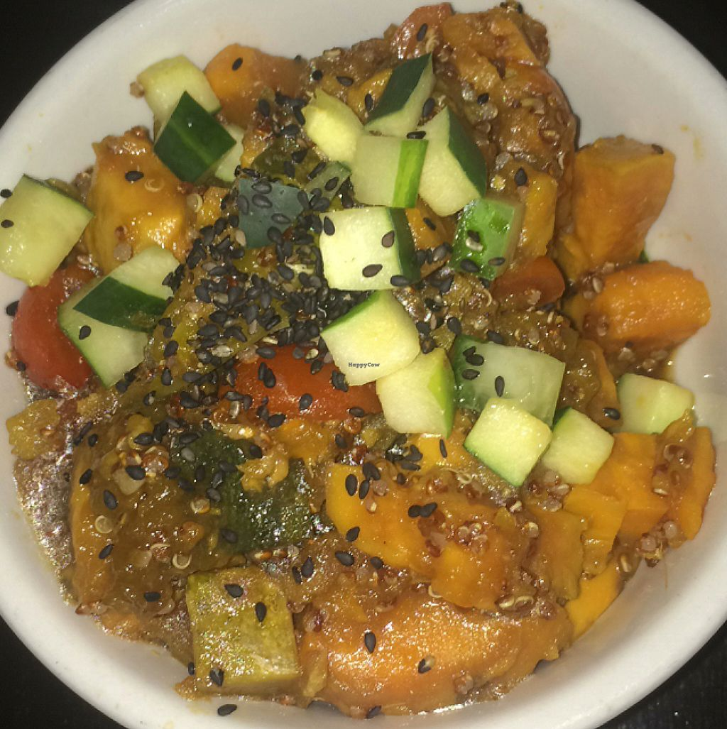 """Photo of Green Thumb Grill  by <a href=""""/members/profile/Sup"""">Sup</a> <br/>Sweet potato pumpkin salad <br/> May 12, 2017  - <a href='/contact/abuse/image/87846/257977'>Report</a>"""