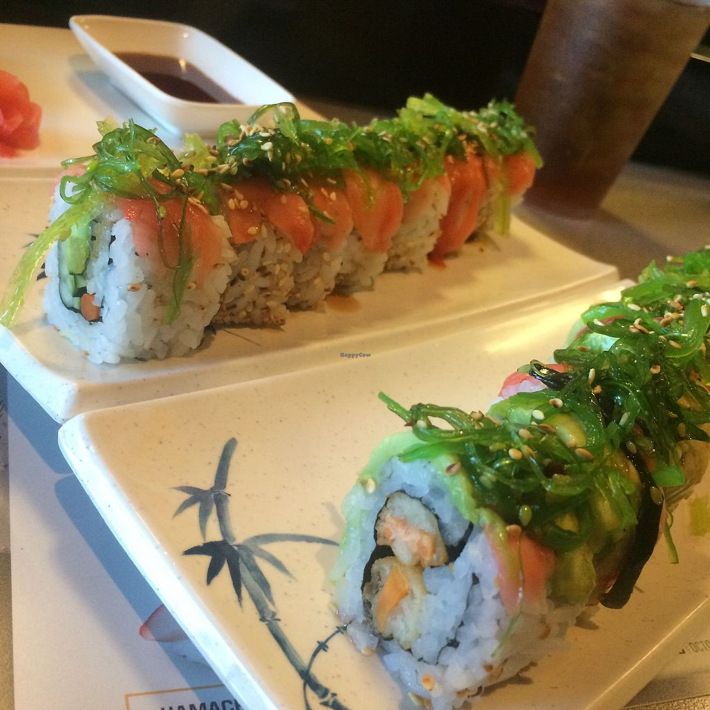 "Photo of Sushi Lover  by <a href=""/members/profile/TravelingVeg"">TravelingVeg</a> <br/>Veggie rolls #11 & #29 <br/> August 27, 2017  - <a href='/contact/abuse/image/87860/297690'>Report</a>"