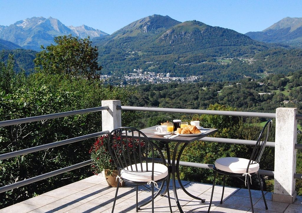 """Photo of Auberge Saint Pastous  by <a href=""""/members/profile/SophieLechat"""">SophieLechat</a> <br/>View from the terrace <br/> June 11, 2017  - <a href='/contact/abuse/image/87885/268046'>Report</a>"""
