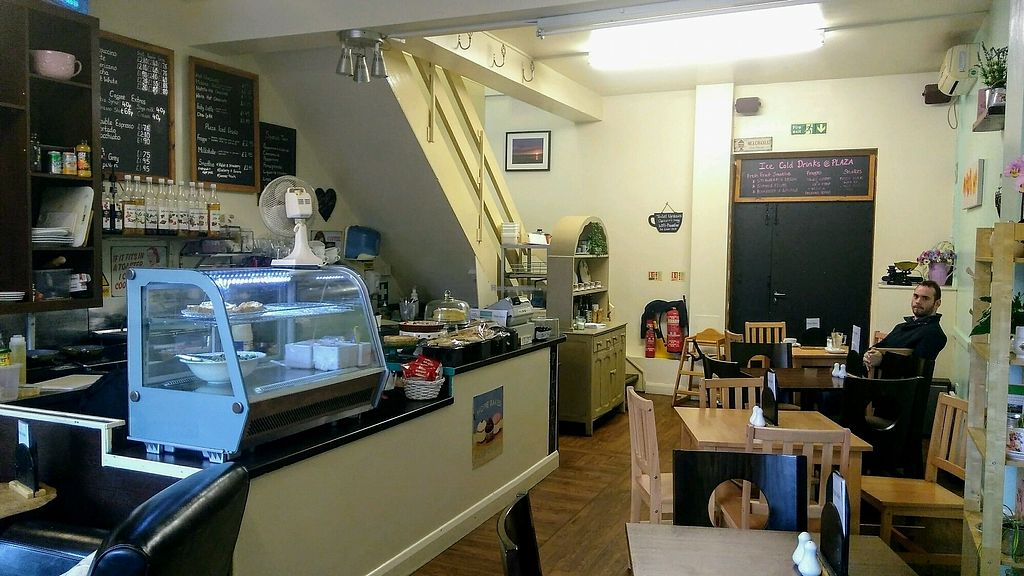 "Photo of Plaza Coffee Cafe  by <a href=""/members/profile/JamesGriffin"">JamesGriffin</a> <br/>View from front door, there is an upstairs section too <br/> September 21, 2017  - <a href='/contact/abuse/image/87887/306771'>Report</a>"