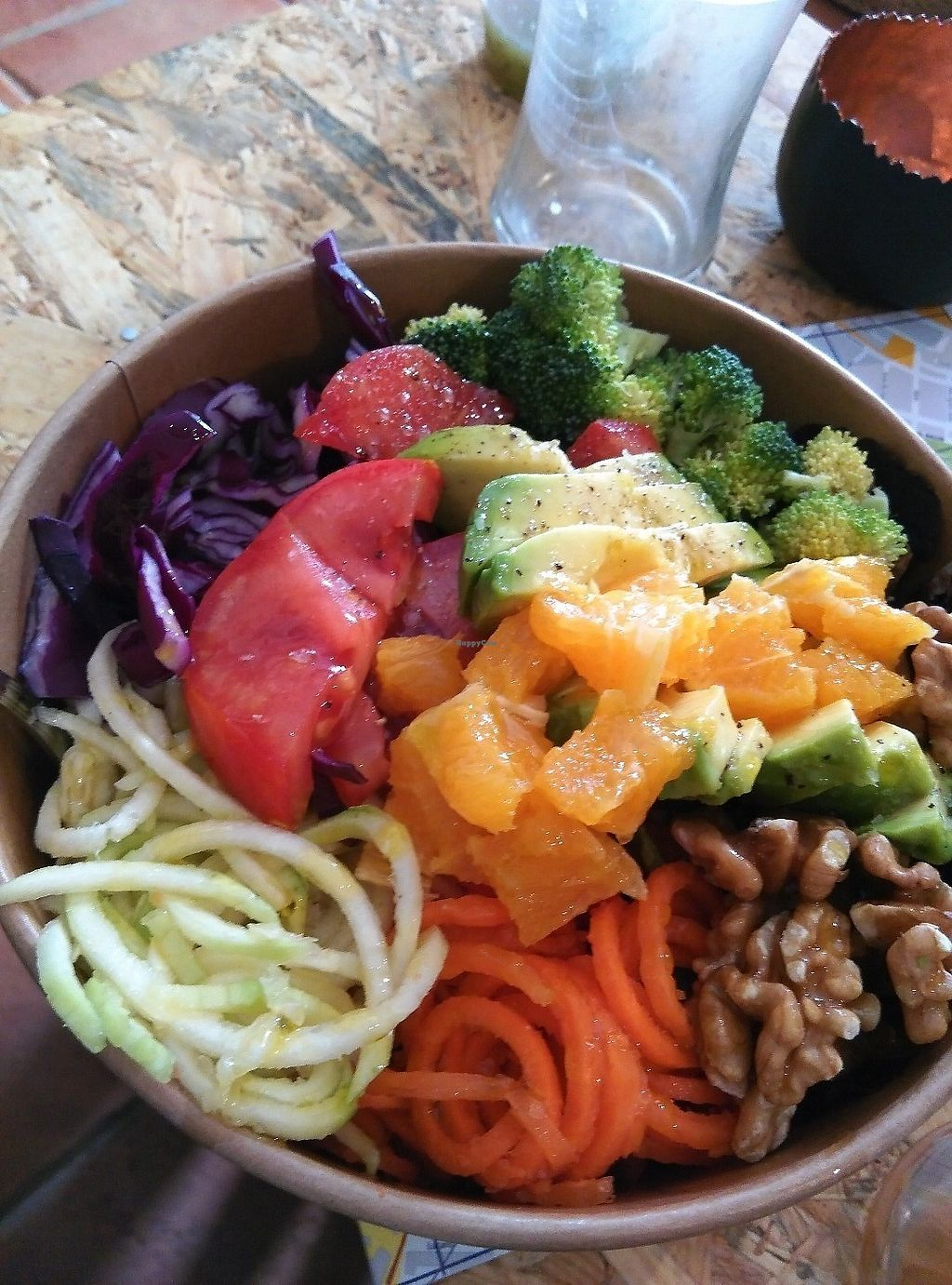 """Photo of La Libelula Coffeeshop  by <a href=""""/members/profile/Cfriedman67"""">Cfriedman67</a> <br/>Great veggie bowl / salad.  Full of flavor and filling <br/> June 19, 2017  - <a href='/contact/abuse/image/87896/270926'>Report</a>"""