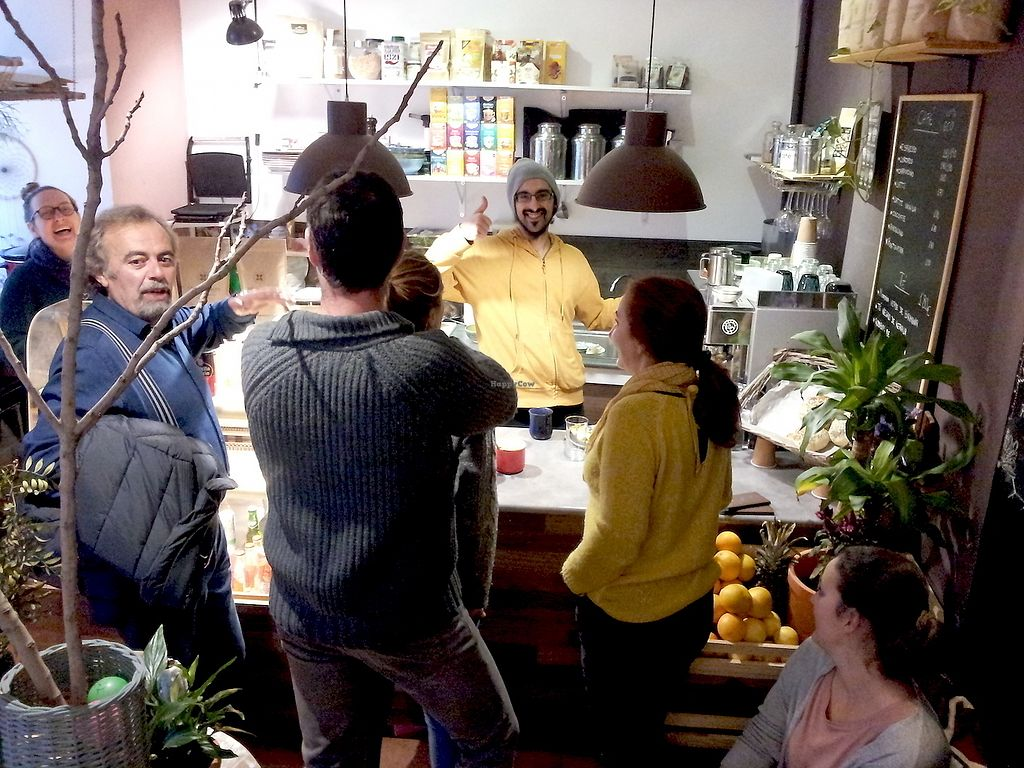 """Photo of La Libelula Coffeeshop  by <a href=""""/members/profile/paolserret"""">paolserret</a> <br/>Come early as it is very popular place .. among Vegan !!  <br/> January 14, 2018  - <a href='/contact/abuse/image/87896/346610'>Report</a>"""