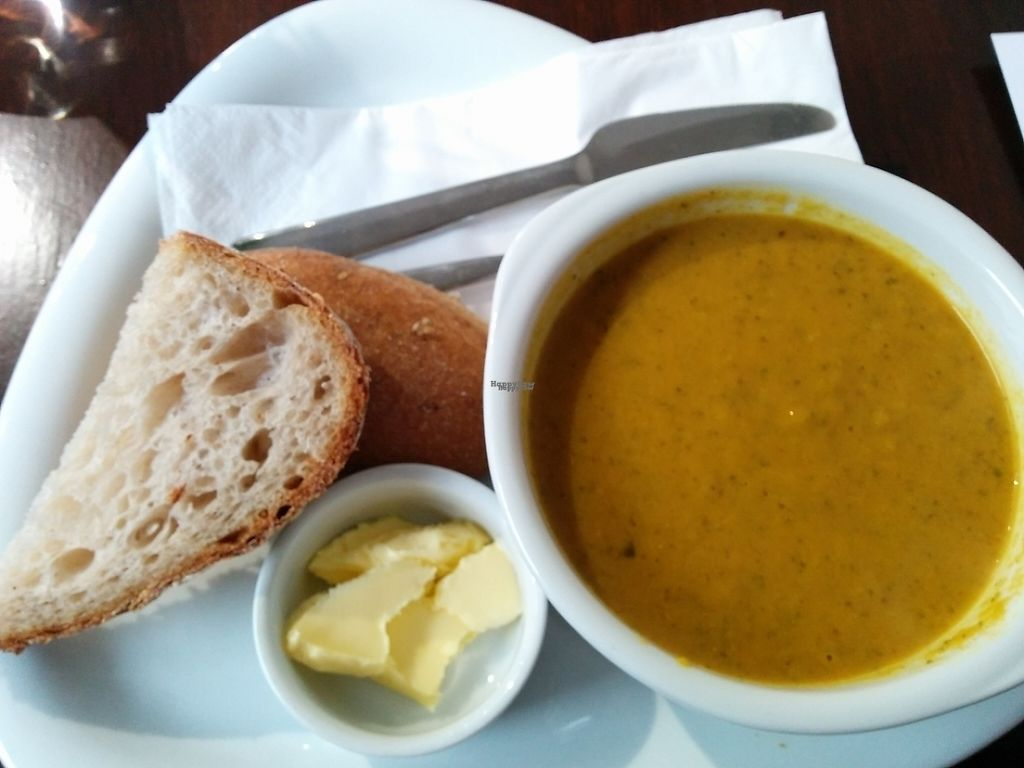 """Photo of The V & V Cafe  by <a href=""""/members/profile/CLRtraveller"""">CLRtraveller</a> <br/>one of the soups of the day <br/> March 7, 2017  - <a href='/contact/abuse/image/87908/233900'>Report</a>"""