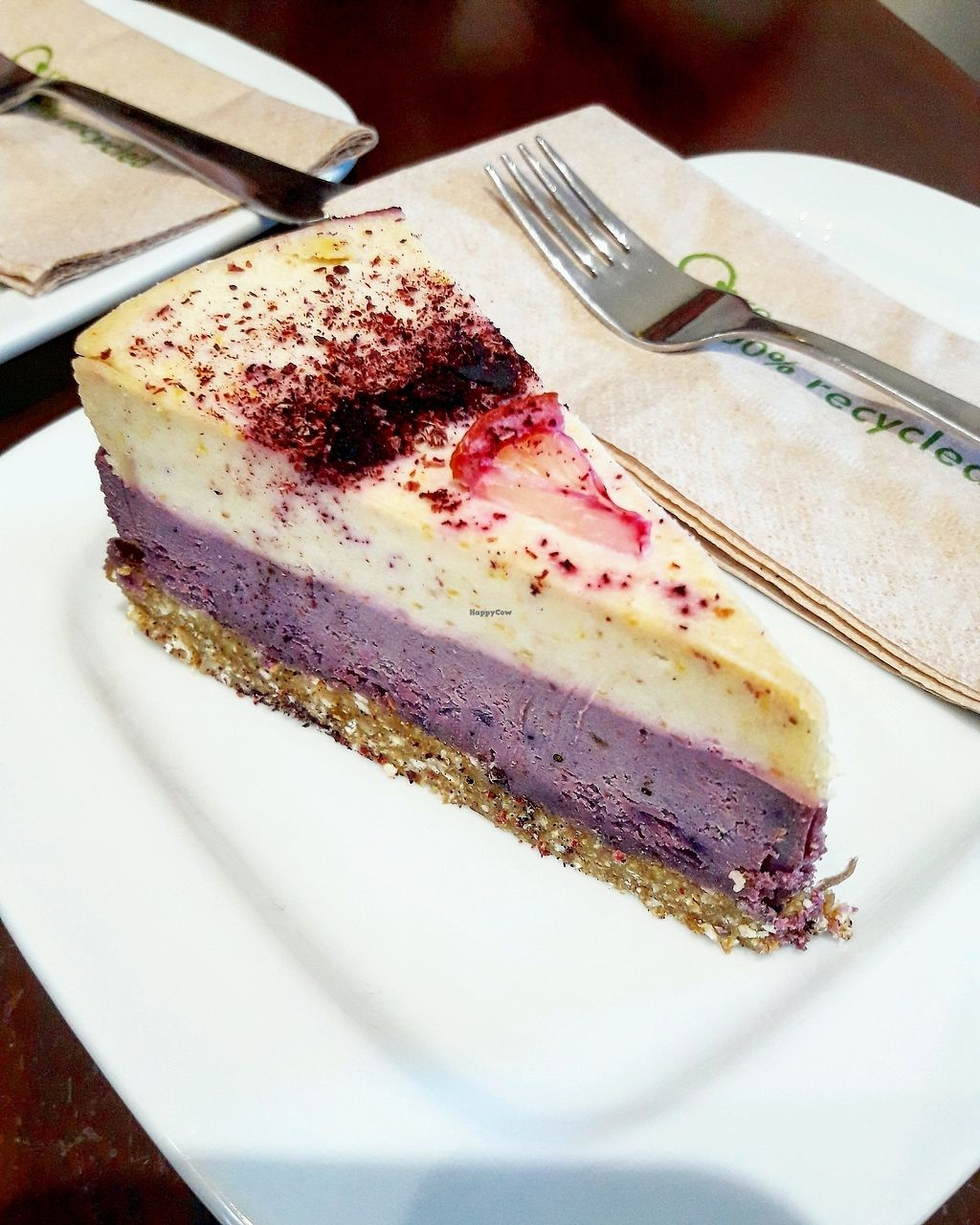 """Photo of The V & V Cafe  by <a href=""""/members/profile/Arta"""">Arta</a> <br/>lemon and berry cheesecake <br/> February 26, 2018  - <a href='/contact/abuse/image/87908/364149'>Report</a>"""