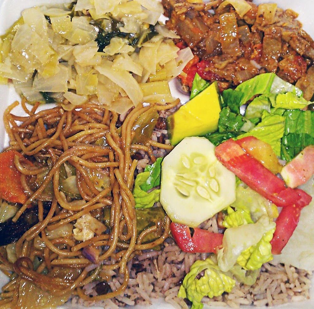 """Photo of Bobby's Meal  by <a href=""""/members/profile/LauraPonce"""">LauraPonce</a> <br/>Vegan Rasta food  <br/> December 9, 2017  - <a href='/contact/abuse/image/87914/333809'>Report</a>"""