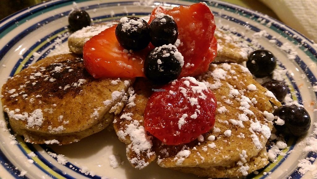 """Photo of Jack & Diane's   by <a href=""""/members/profile/TAMiller"""">TAMiller</a> <br/>World Famous Pancakes (vegan version)  <br/> March 1, 2017  - <a href='/contact/abuse/image/87917/231548'>Report</a>"""
