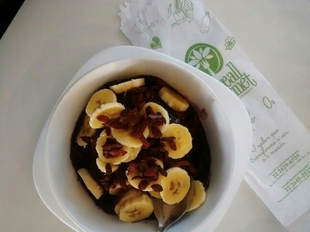 "Photo of Cereall Gourmet  by <a href=""/members/profile/JavieraUchida"">JavieraUchida</a> <br/>açai bowl w/ banana and goji berries <br/> March 22, 2017  - <a href='/contact/abuse/image/87920/239618'>Report</a>"